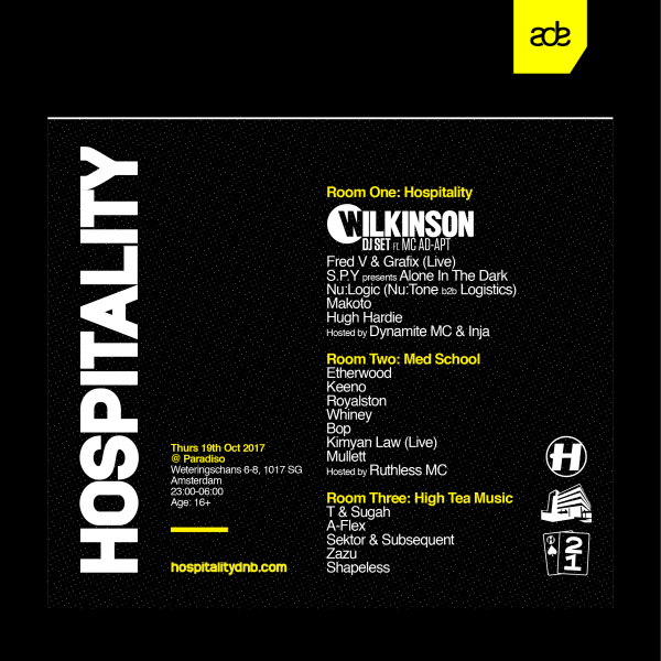 Hospitality at ADE 2017 - 19 Oct 2017 - Hospitality